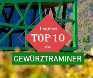 I migliori vini Gewürztraminer (Traminer Aromatico) dell'Alto Adige